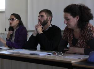 Judy Minx, Mathieu Trachman et Béatrice Damian-Gaillard